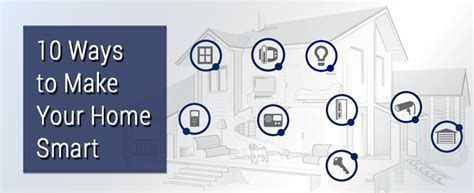 10 ways to make your home smart