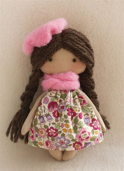 rag doll hair pattern diy kit rag doll supplies simple to do dolls