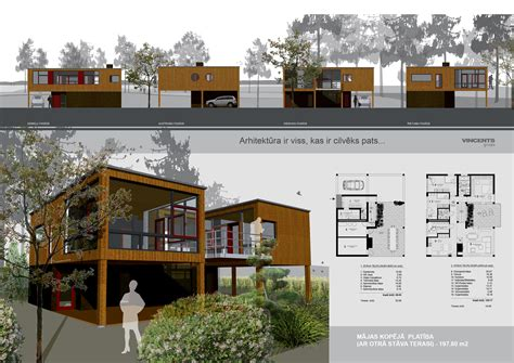 presentation drawing layout architecture portfolio layout indesign house plans