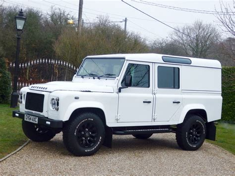 white land rover defender used fuji white land rover defender for sale essex