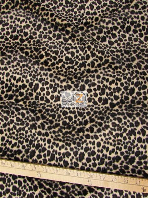 leopard spots animal print jungle brown fleece fabric velboa faux fake fur cheetah animal short pile fabric