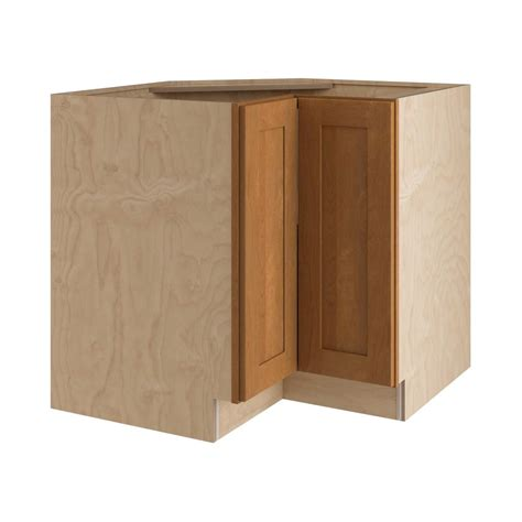 Kitchen Corner Cabinet Home Decorators Collection Hargrove Assembled 36x34 5x24 In Easy Reach Susan Hinge Right