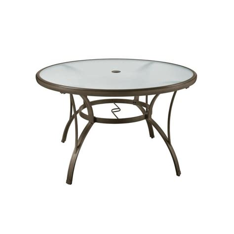Glass Patio Table Top Replacement Mainstays Heritage Park Dining Table Brown Images With Fascinating Patio Lazy Susan Glass