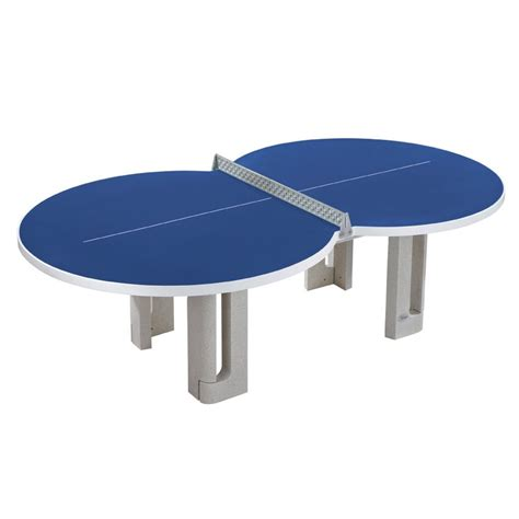Table Tennis Table by Butterfly Figure Eight Concrete Table Tennis Table