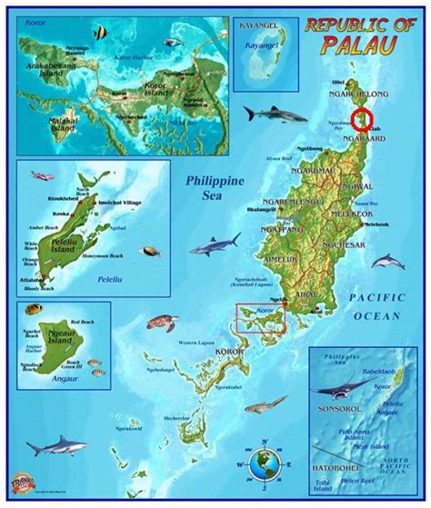 palau map w7gj 2016 6m eme dxpedition to t8 palau and v6 micronesia