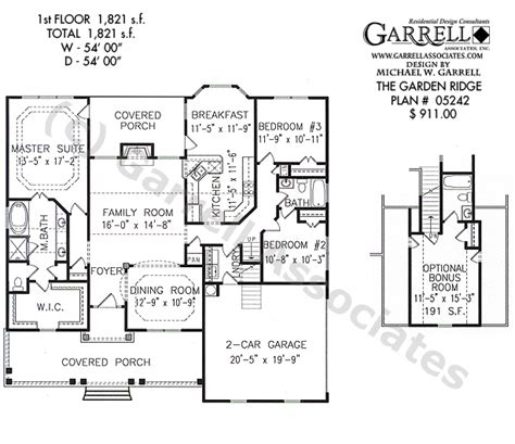 garden home floor plans garden ridge house plan house plans by garrell