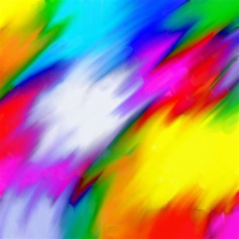 Abstract Colour Blend Free Stock Photo Public Domain Colour Picture