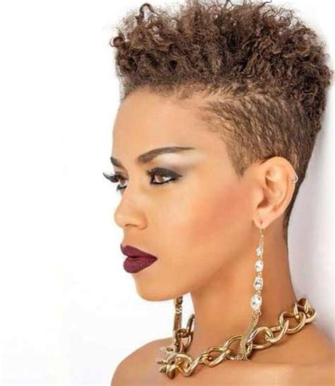 tappered pixie hairstyles for black women 20 pixie cut for black women short hairstyles 2017