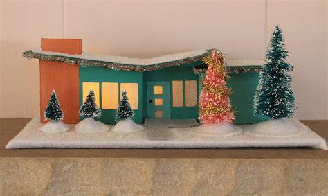 putz houses 7 great retro holiday craft tutorials merry kitschmas fun retro renovation