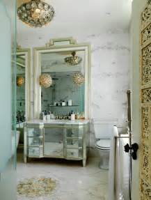 glamorous bathroom mirrors mirrored bathroom vanity eclectic bathroom sera of