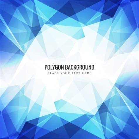 polygon pattern background free download blue polygon background vector free download