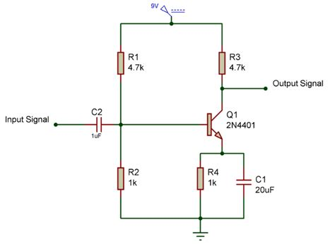 use capacitor in transistor lifier circuit lifier circuit using transistor gadgetronicx