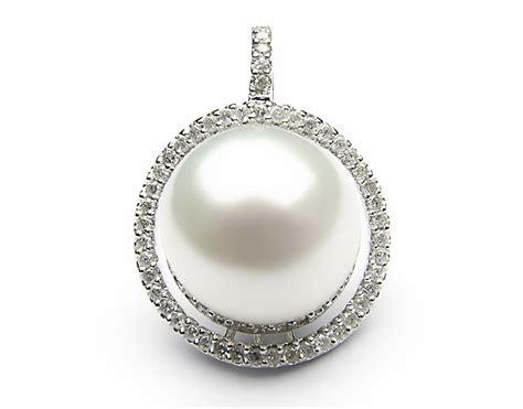 white south sea pearl pendant 12mm 13mm aaa