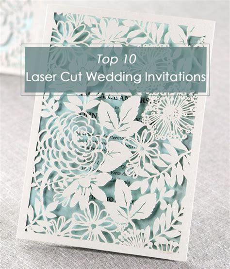 Top 10 Laser Cute Elegant Wedding Invitations