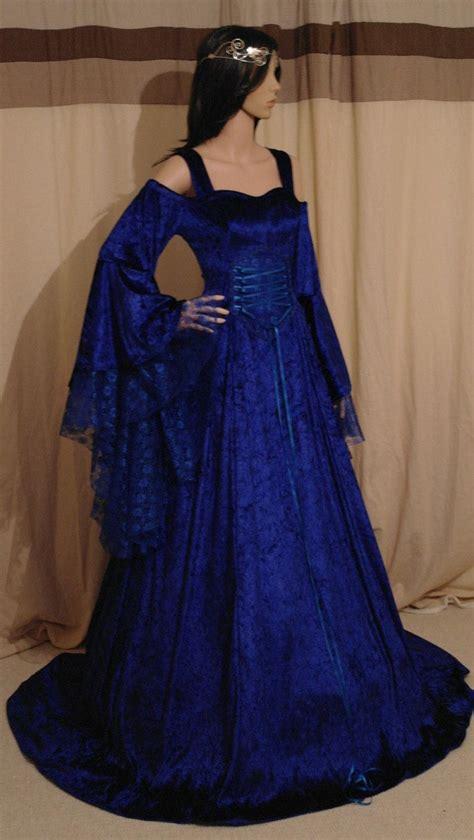 28+ [blue dress elven dress handfasting dress idealpin]