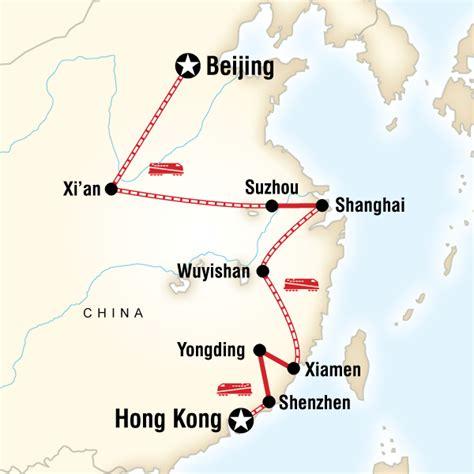 Six Adventure Filled Destinations In Hong Kong by Beijing To Hong Kong Fujian Route In China Asia G