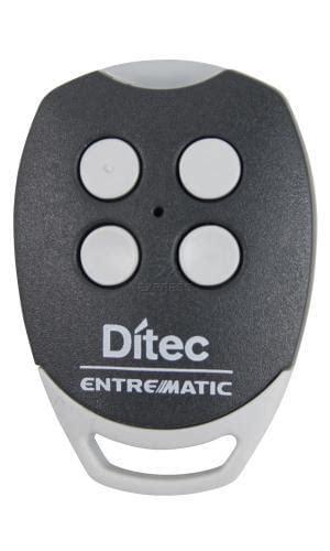 programar mando a distancia garaje mando ditec gol4 mando de garaje