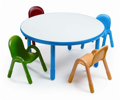 angeles baseline preschool table chair set   ab packaged tables chairs