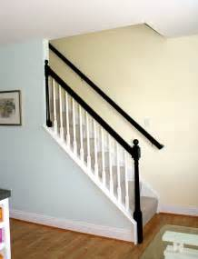 banister staircase black banisters interior design ideas bright bold and