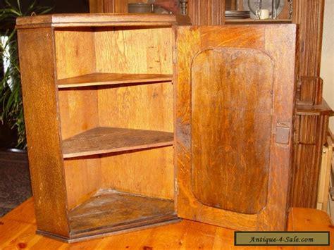 cabinet corner bemidji minnesota antique quartersawn oak wall hanging corner cupboard with
