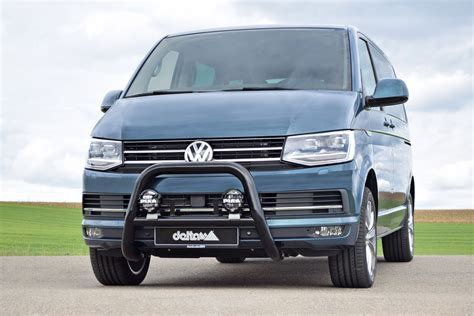 vw transporter caravelle shuttle t6 16 black eu a bar nudge bull bars ebay