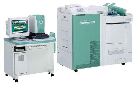Mesin Frontier 340 Fuji mesin cetak foto standar studio gan kaskus