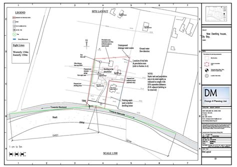 site layout of the building 2 planning applications