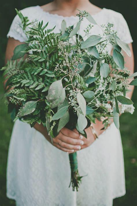 Wedding Bouquet Foliage by Green Foliage Bouquet Weddingelation