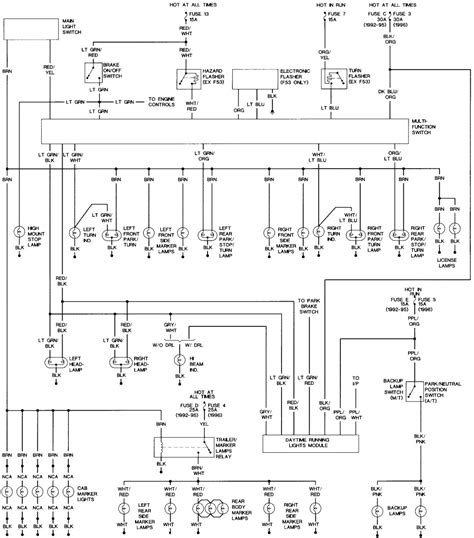 headlight switch wiring diagram collection wiring diagram sample