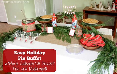easy holiday buffet menu ideas easy christmas decorations archives events to celebrate