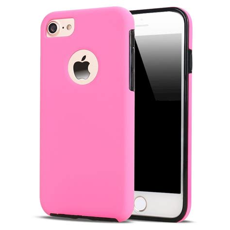 wholesale iphone 7 plus 360 slim protection pink