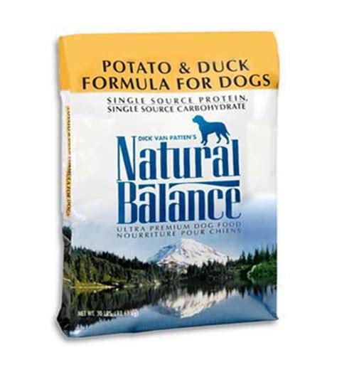 balance food puppy balance potato and duck food