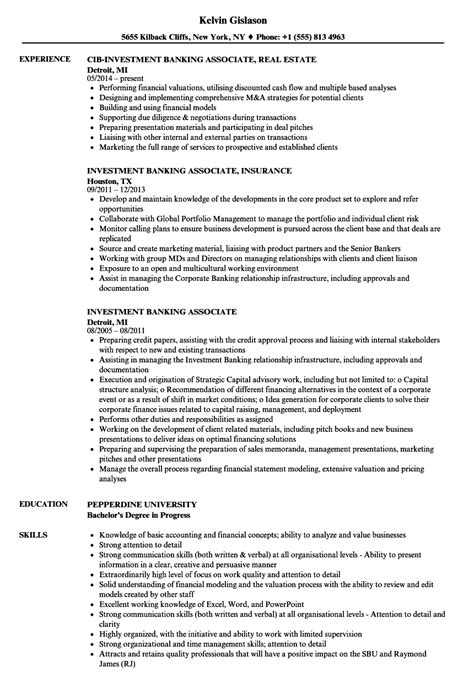 Investment Associate Sle Resume by Sle Resume For Investment Banking Sle Resume Project Coordinator