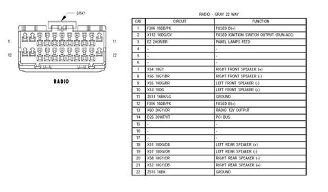2003 jeep grand radio wiring diagram wiring