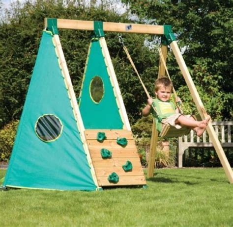 swing set cubby house early fun activity swing set wooden playground kits diy
