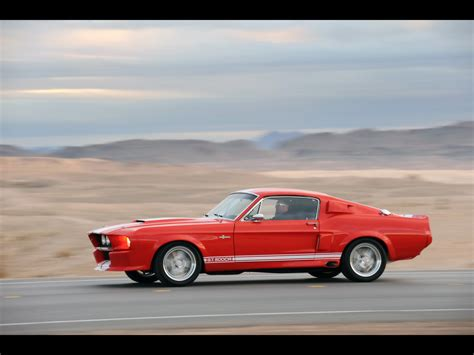 classic recreations wallpaper 2010 classic recreations shelby gt500cr side angle speed