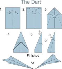 A Paper Plane - dart paper airplane how to fold airplanes and paper