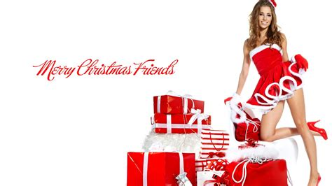 merry christmas girls wallpapers  hd wallpapers