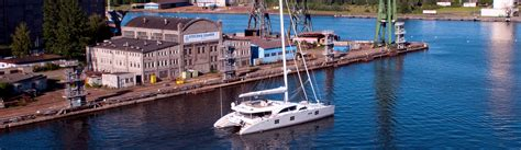 the catamaran company san diego shipyard the catamaran company