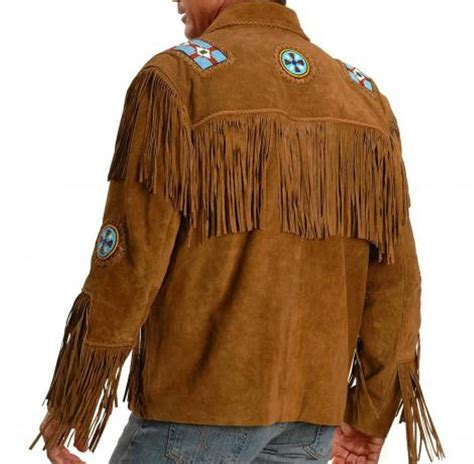 Handmade Jackets - handmade color suede leather western cowboy jacket