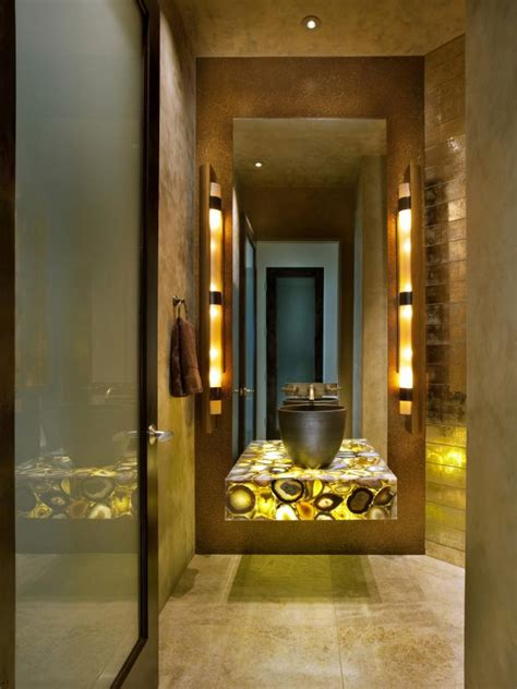 Zen Bathroom Lighting Zen Bathroom With Creative Lighting Hgtv