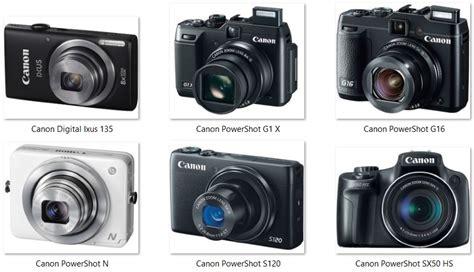 daftar harga kamera canon daftar harga kamera poket prosumer canon 2016 panduan