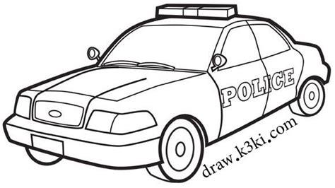 police van coloring page رسومات سيارات جاهزة للتلوين
