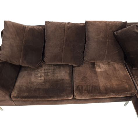 Velvet Sectional Sofa 87 Vioski Vioski Velvet Lounge Sectional Sofa Sofas