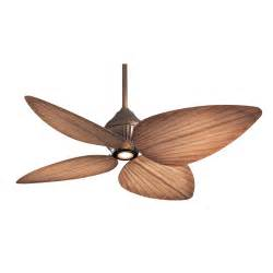 Tropical Style Ceiling Fans F581 Orb Minka Aire Gauguin Ceiling Fan Rubbed
