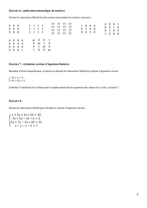 Tp 2 vecteur et matrice