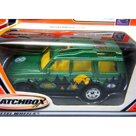 matchbox land rover discovery matchbox 50th anniversary logo land rover