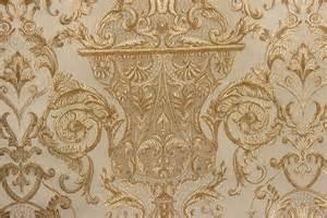 Outdoor Sunbrella Drapes Utrillo Damask Gold Cream The Fabric Mill