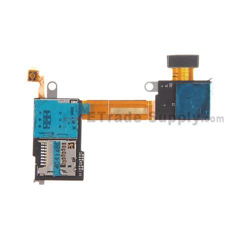 sony xperia m2 sim card reader flex cable ribbon etrade supply