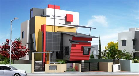 front elevation of house house elevation design india